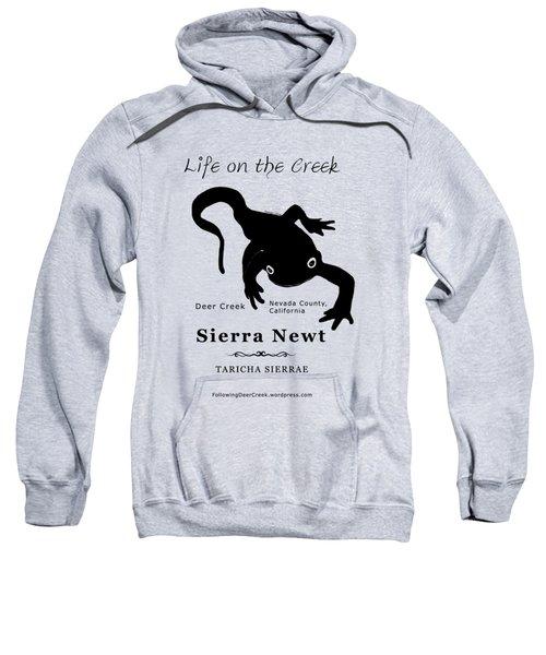Sierra Newt - Black Sweatshirt
