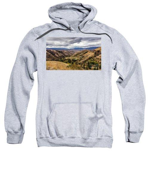 Silence Of Whitebird Canyon Idaho Journey Landscape Photography By Kaylyn Franks  Sweatshirt