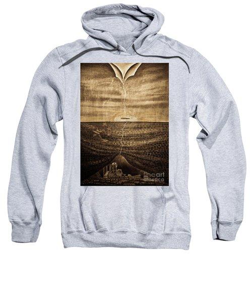 Silent Echo Beige Sweatshirt