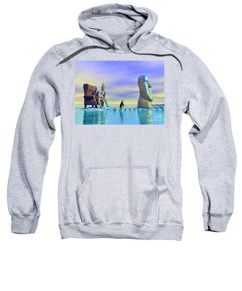 Silent Mind - Surrealism Sweatshirt