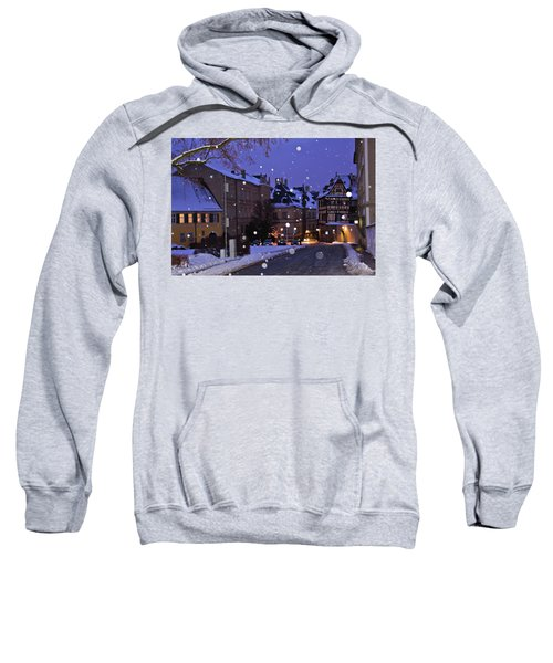 Silent Night In Bamberg, Germany #2 Sweatshirt