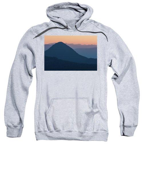 Silhouettes At Sunset, No. 2 Sweatshirt