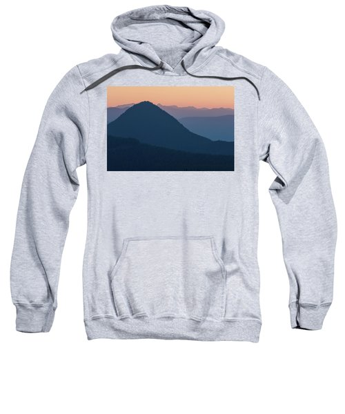 Silhouettes At Sunset, No. 2 Sweatshirt