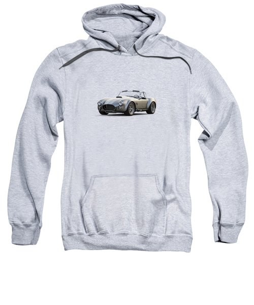 Silver Ac Cobra Sweatshirt by Douglas Pittman