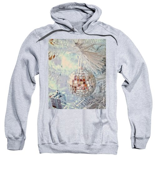 Silver And White Christmas Sweatshirt