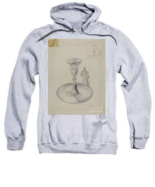Silver Candlestick Holder Sweatshirt