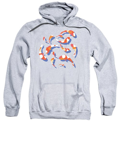 Koi Sweatshirt by Lucy Niedbala