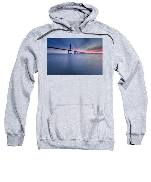 Simple Long Bridge Sweatshirt