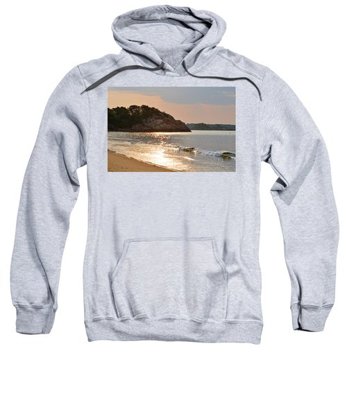 Singing Beach Silver Waves Manchester By The Sea Ma Sweatshirt