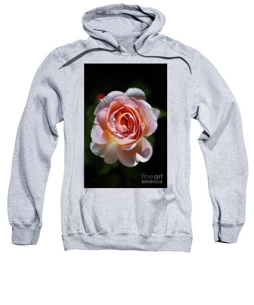 Single Romantic Rose  Sweatshirt