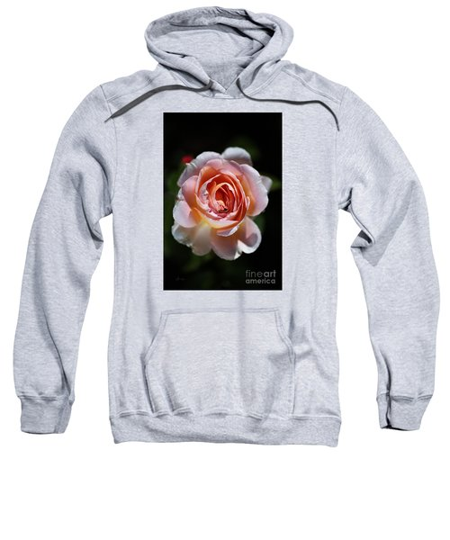 Single Romantic Rose  Sweatshirt