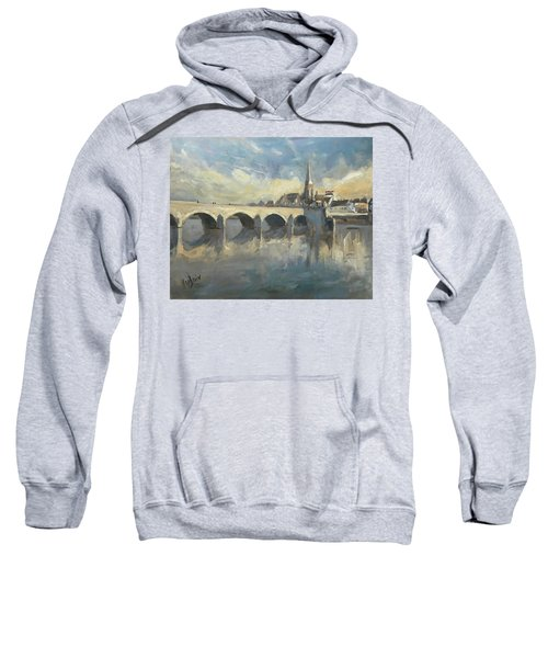 Sint Servaas Bridge Maastricht Sweatshirt