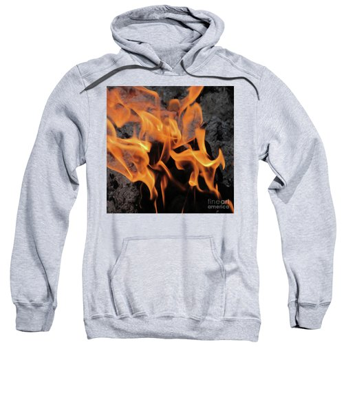 Sitting By The Crackling Fire Sweatshirt