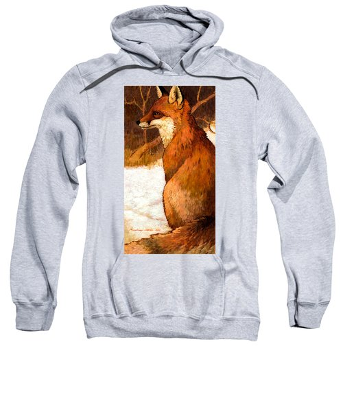 Sitting Fox Sweatshirt