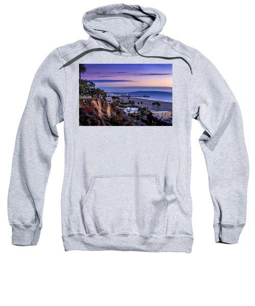 Sitting On The Fence - Santa Monica Pier Sweatshirt
