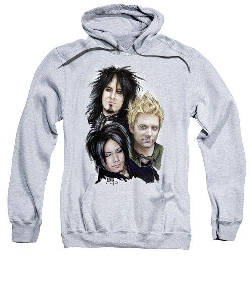 Sixx Am Sweatshirt by Melanie D