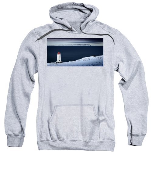 Skardsviti Lighthouse, Iceland Sweatshirt