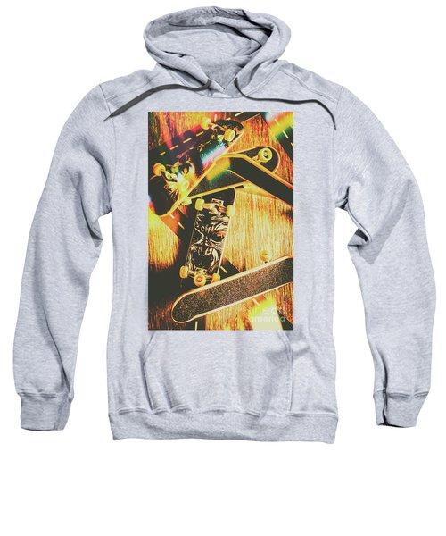 Skateboarding Tricks And Flips Sweatshirt