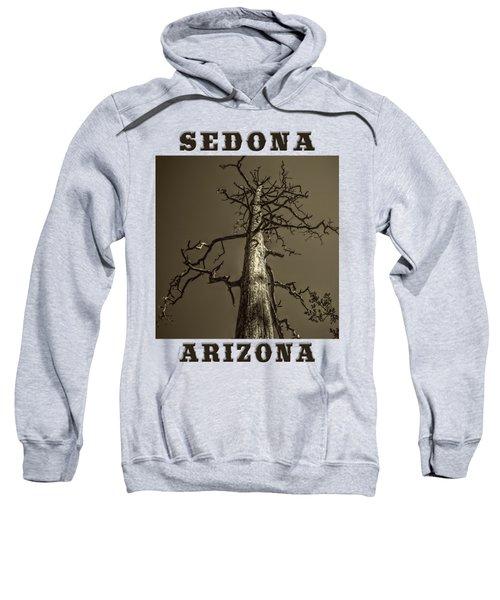 Skeletal Tree Sedona Arizona Sweatshirt