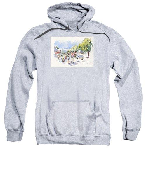 Sketch Of Farmer's Market Sweatshirt