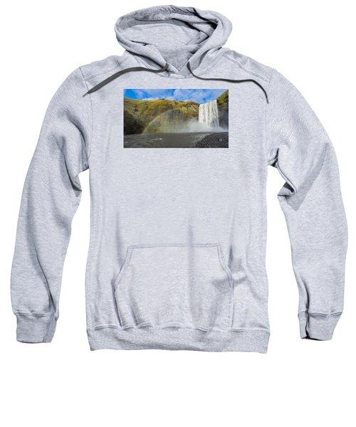 Skogafoss Rainbow Sweatshirt