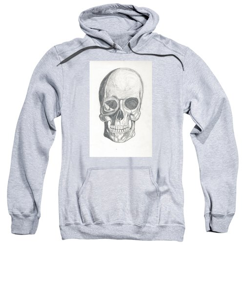Skull Study 2 Sweatshirt