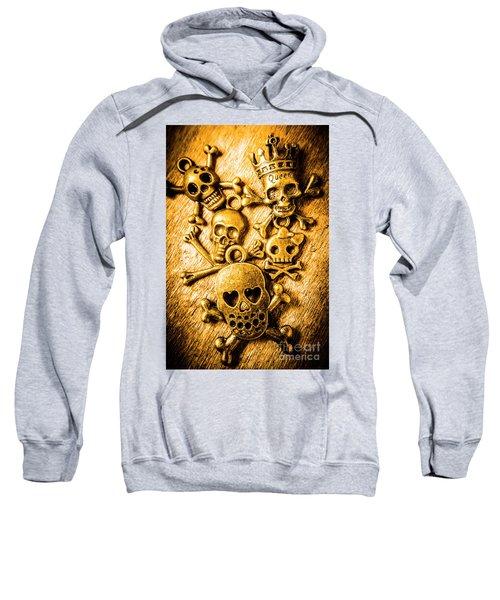 Skulls And Crossbones Sweatshirt