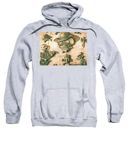 Skulls And Pieces Sweatshirt