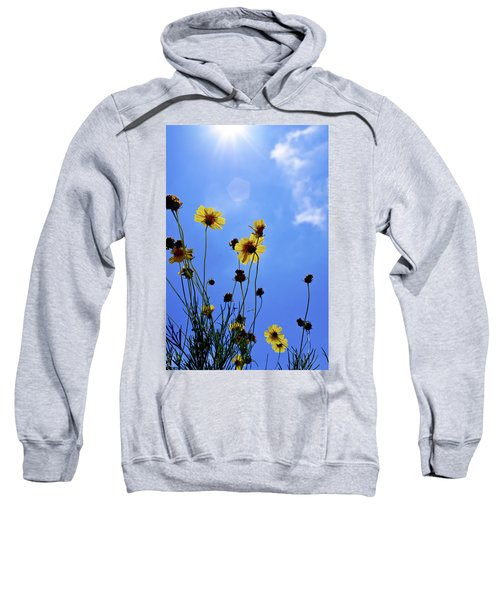 Sky Flowers Sweatshirt