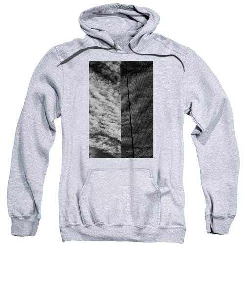 Sweatshirt featuring the photograph Sky Show by Lora Lee Chapman