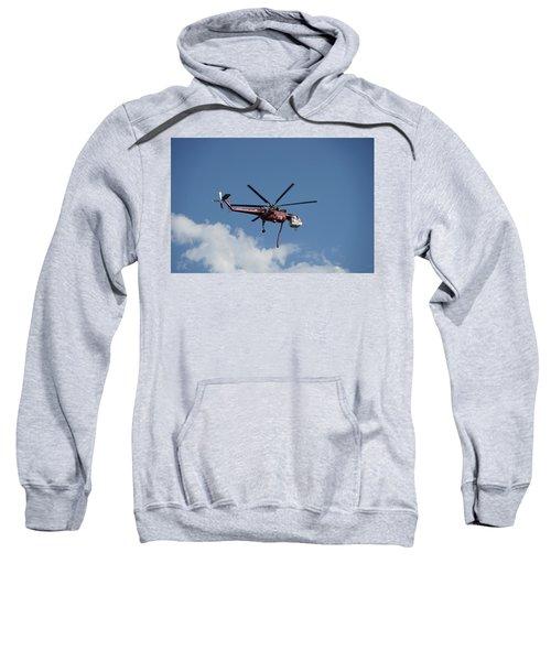 Skycrane Works The Red Canyon Fire Sweatshirt