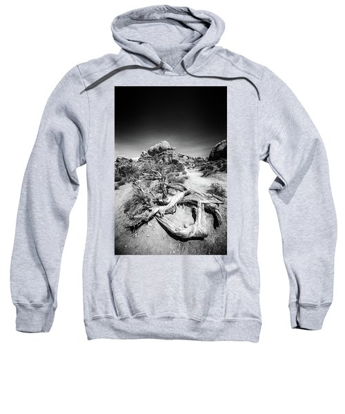 Skyline Arch In Arches National Park Sweatshirt