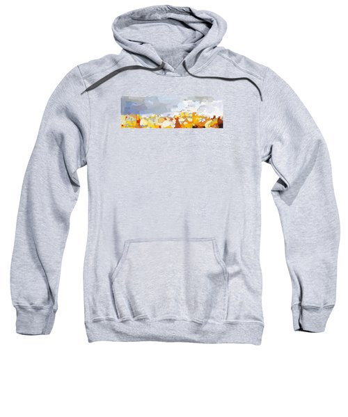 Skyline Cambridge, Uk Sweatshirt