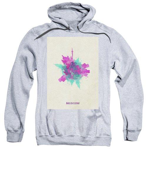Skyround Art Of Moscow, Russia Sweatshirt
