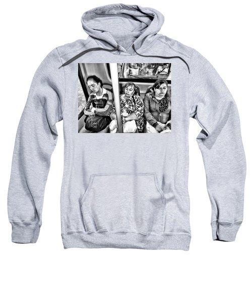 Sleeping Bus Riders Sweatshirt