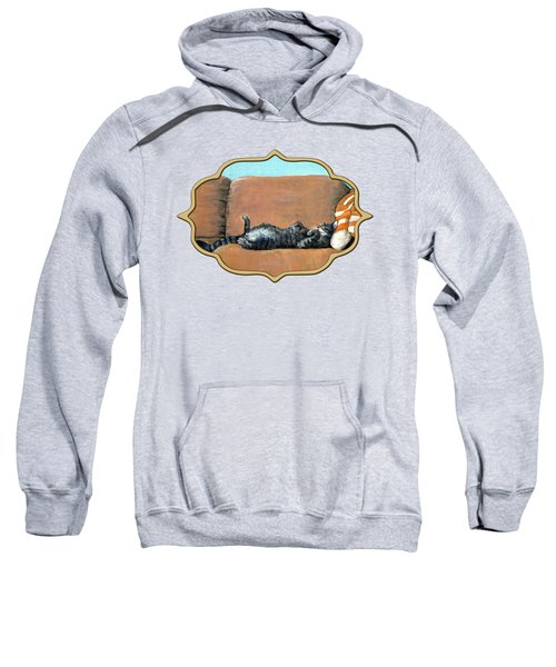 Sleeping Cat Sweatshirt