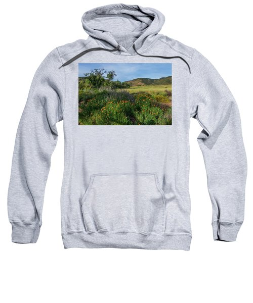 Sleeping Poppies, Mission Trails Sweatshirt
