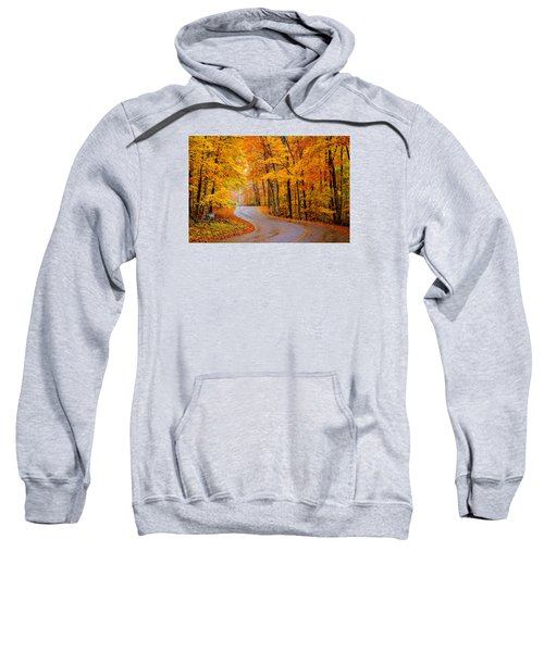 Slippery Color Sweatshirt