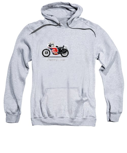 Slippery Sam Production Racer Sweatshirt by Mark Rogan