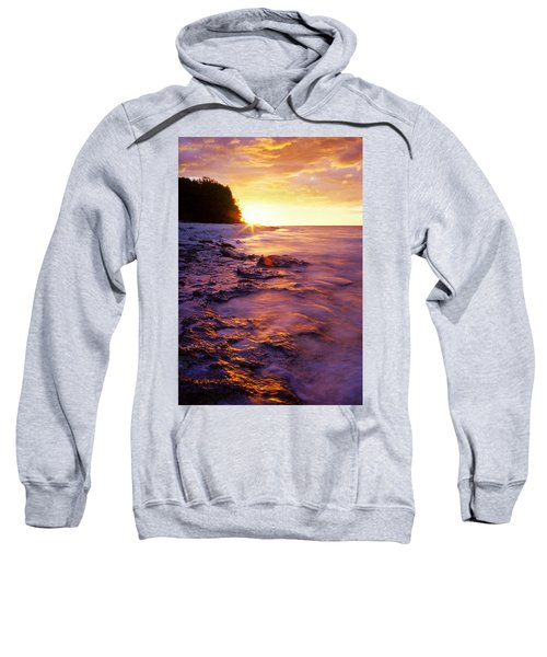 Slow Ocean Sunset Sweatshirt