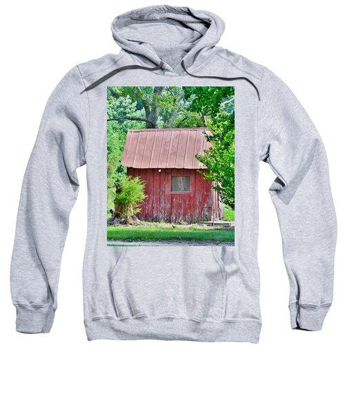 Small Red Barn - Lewes Delaware Sweatshirt