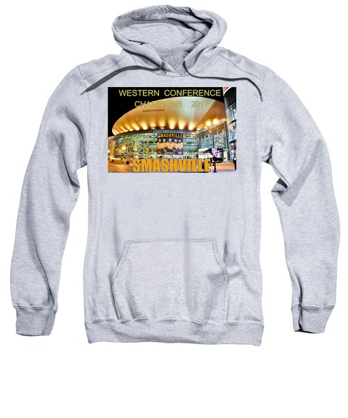 Smashville Western Conference Champions 2017 Sweatshirt