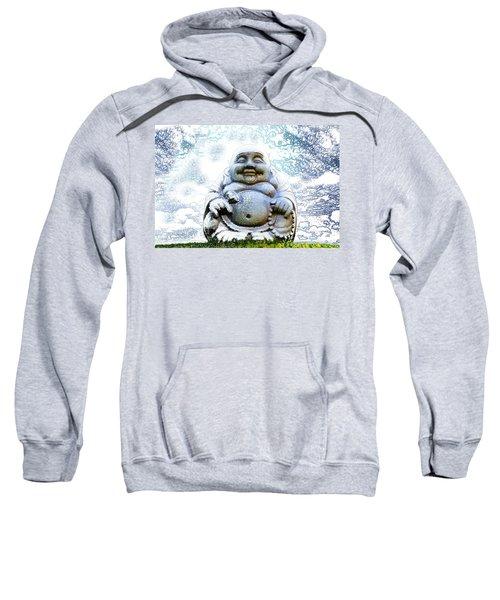 Smiling Buddha Sweatshirt