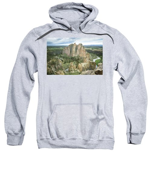 Smith Rock From Misery Ridge Sweatshirt
