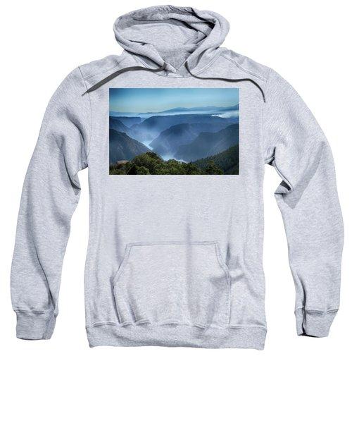 Smoke Over Flaming Gorge Sweatshirt