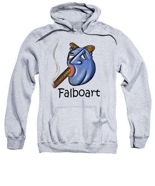 Smoking Blue Man Sweatshirt
