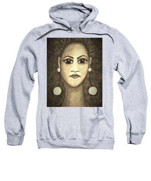 Smoking Woman 1 Sweatshirt