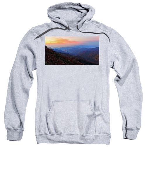 Dawn From Standing Indian Mountain Sweatshirt