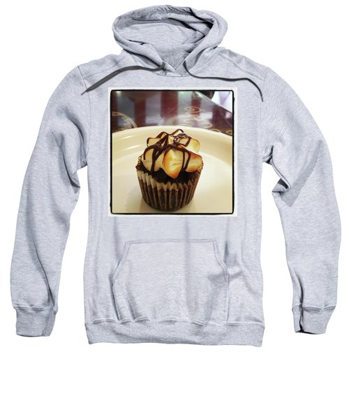 Sweatshirt featuring the photograph smore Miniature Cupcake N Coffee by Mr Photojimsf