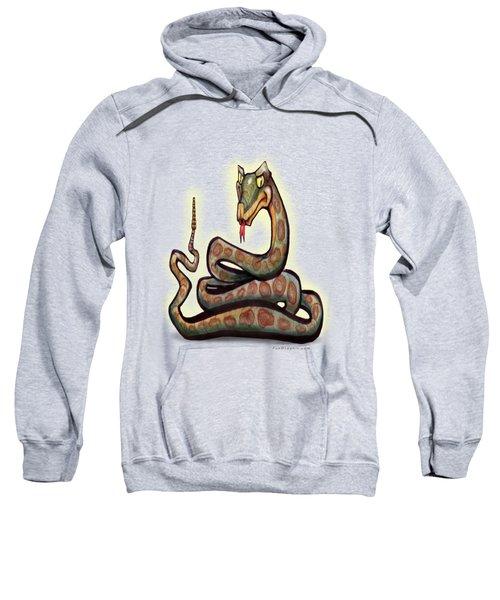 Snake Sweatshirt by Kevin Middleton